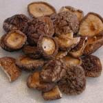 Shiitake mushroom dried 150x150 FRESH MUSHROOMS