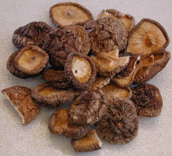 how to cook hitake mushrooms